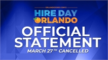 Hire Day Orlando Rescheduled - Virtual Career Fair Announcement