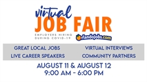 "OrlandoJobs.com Virtual ""LIVE"" Job Fair is August 11-12 -- Job seekers able to Set Video Interviews with over 60 Employers"
