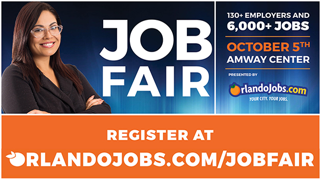 OrlandoJobs.com Hosting the Largest Job Fair at the Amway Center in Central Florida on Friday, October 5, 2018! Over 100 Employers and 6,400 jobs