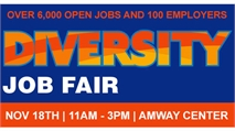 Largest Job Fair in Florida - 11/18 at Amway Center - Tips and Info