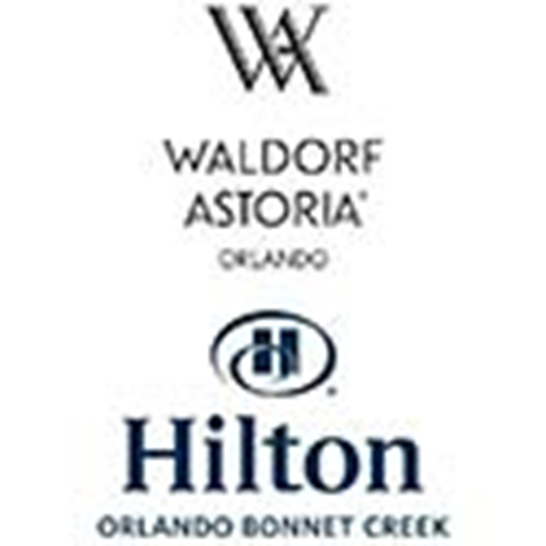 Waldorf Astoria & Hilton Bonnet Creek logo