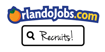 OrlandoJobs.com Recruits! logo
