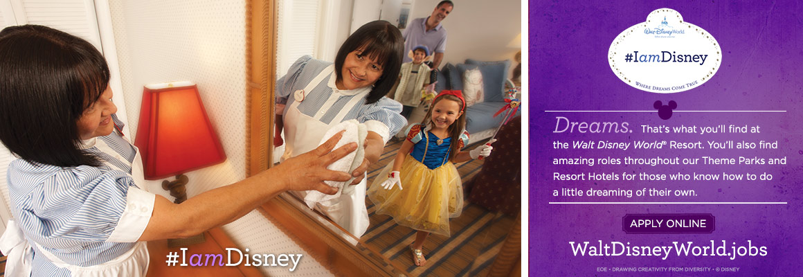 Walt Disney World Resort Jobs