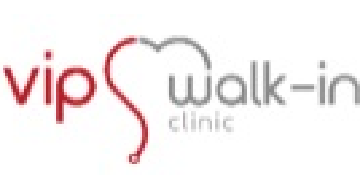 VIP Walk-In Clinic logo