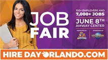 Hire Day Orlando - The Largest Career Event Ever in Central Florida - June 8