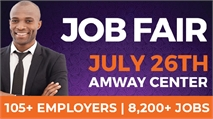 OrlandoJobs.com Huge Job Fair at the Amway Center in Central Florida on Friday, July 26, 2019! Over 105 Employers and 8,200 jobs