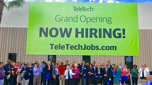 TeleTech Opens in Daytona Beach, Hiring 900 Employees