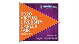 "OrlandoJobs.com Virtual ""LIVE"" Diversity Job Fair Presented with Mayor Jerry Demings is November 17th & 18th Featuring Over 65 Central Florida Employers"